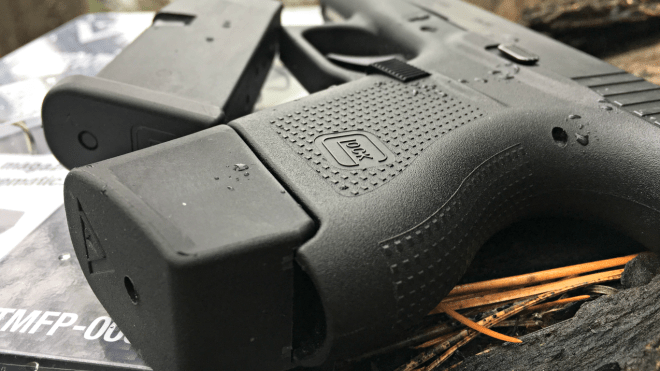 Vickers Tactical Glock 43 Plus 2 Mag Extension | Kit Badger