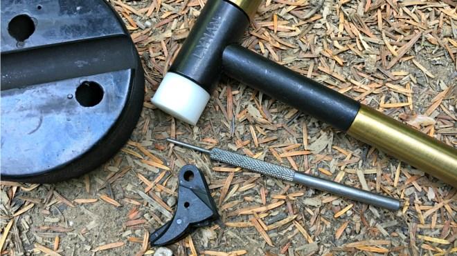 Instal of a Vickers Tac Gen 5 Flat Face Trigger | Kit Badger