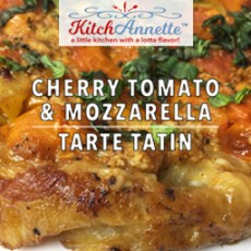 KitchAnnette Cherry Tomato Tarte Title Shot
