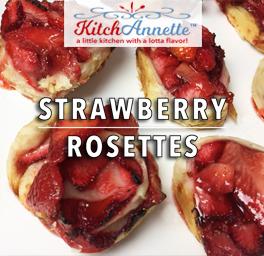 KitchAnnette Strawberry Rosettes Title Shot