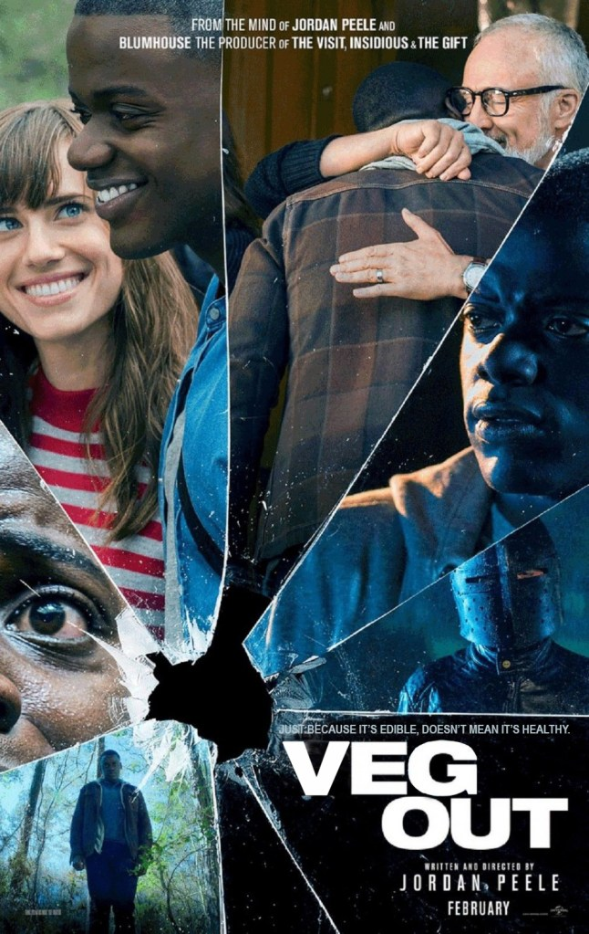 KitchAnnette Veg Out Poster