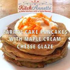 KitchAnnette Carrot Pancake Feature