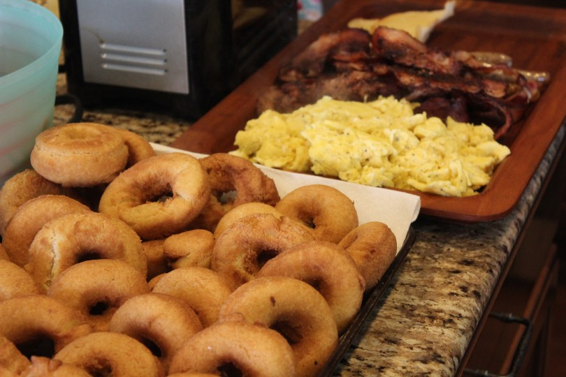 Donuts and breakfast