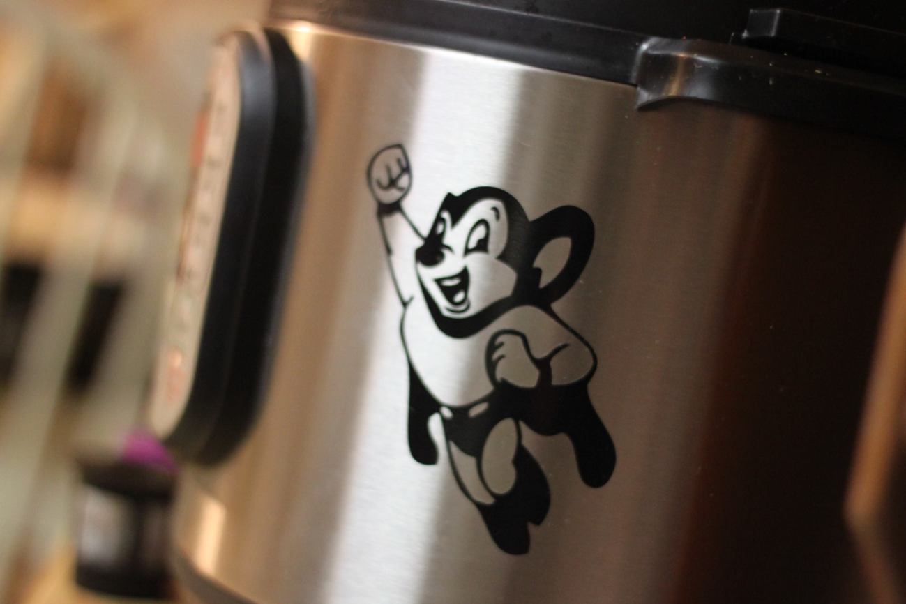 instant pot might mouse decal