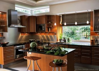 kitchen asian cabinets modern wood cabinet medium kitchens contemporary designs windows cherry warm island trends styles granite colors window cabinetry