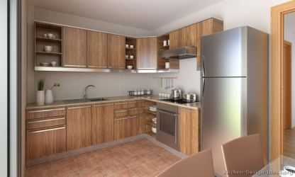 kitchen cabinets european wood modern medium