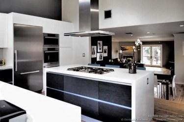 kitchen modern island kitchens cabinets contemporary designer cooktop cabinet islands designs hood apartment idea interior houses remodel hawk haven remodels