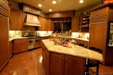 kitchen island brown kitchens traditional medium wood golden designs curved cabinets islands dark remodeling elegant luxury classic countertop interior remodel