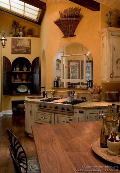 old world french country kitchen French Country Kitchens - Photo Gallery and Design Ideas