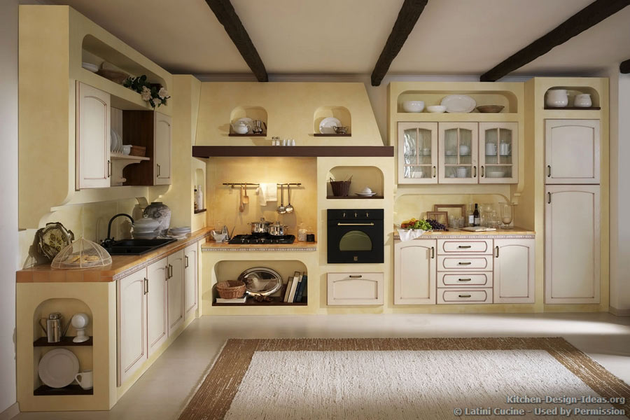Kitchen Pics With White Cabinets Latini Cucine - Classic & Modern Italian Kitchens