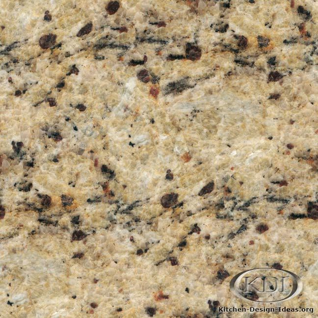 Brazilian Gold Granite  Kitchen Countertop Ideas