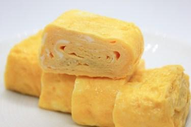 フライパンで卵焼きを作るコツ!四角い卵焼きの作り方
