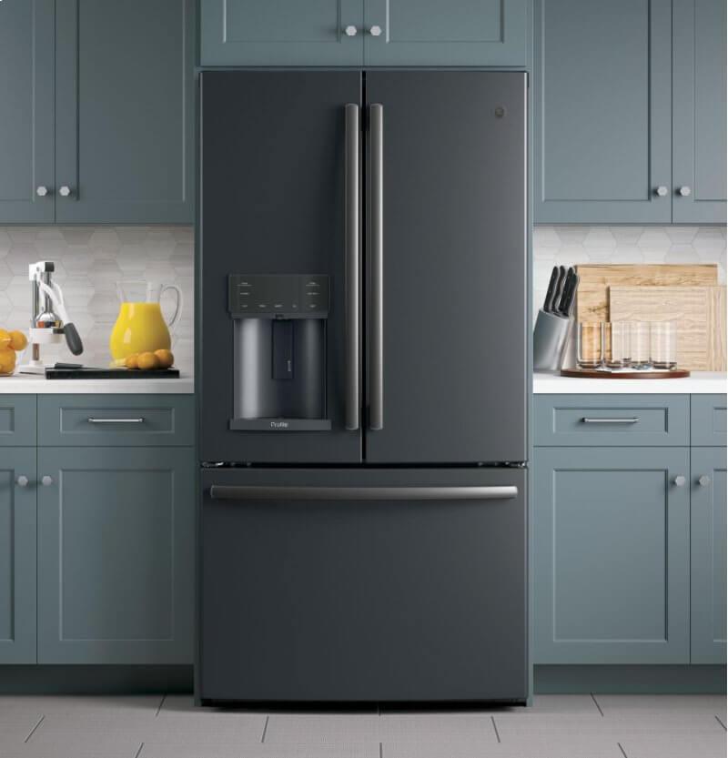 ge black slate appliances cabinet stone