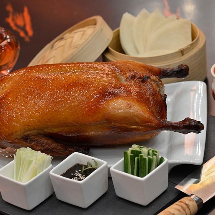 البط المشوي من المطبخ الصيني