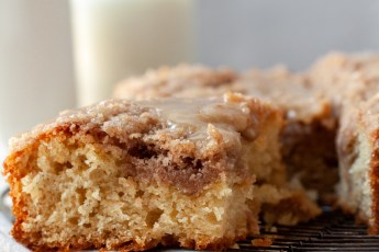Maple Streusel Coffee Cake