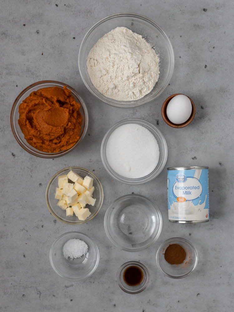 The best pumpkin pie ingredients