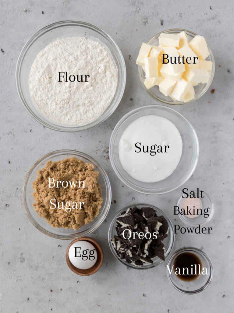 All of the ingredients needed to make this recipe