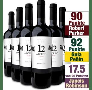 Den Weinvorrat wieder auffüllen mit 6 edlen Flaschen