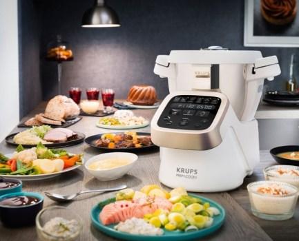 Die Krups HP5031 Prep & Cook Multifunktions-Küchenmaschine