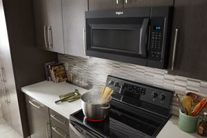 1 7 cu ft microwave hood combination with electronic touch controls