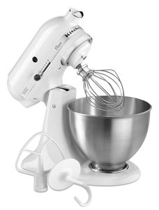 white kitchen aid drawer cabinet classic series 4 5 quart tilt head stand mixer k45sswh design