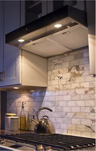Curved Vent Hood