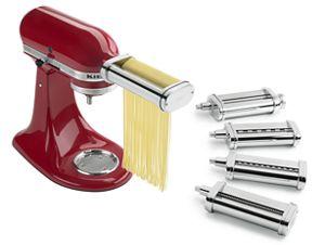 kitchen aid pasta credenza other 5 piece deluxe set ksmpdx kitchenaid