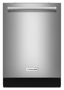 kitchen aide dishwasher stainless steel grid for sink see all dishwashing appliances kitchenaid 46 dba with third level rack and pri