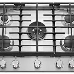 Kitchen Aid Gas Cooktop Canisters Sets Stainless Steel 30 5 Burner Kcgs550ess Kitchenaid