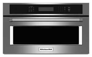 27 built in microwave oven with convection cooking