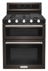 kitchen aid gas stove las vegas hotel with ranges kitchenaid 30 inch 5 burner double oven convection