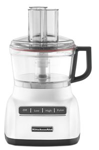 white kitchen aid glass tables and chairs kitchenaid 7cup food processor kfp0711wh