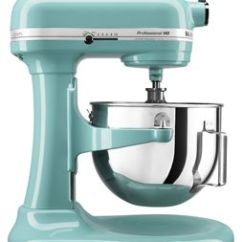 Kitchen Aid Pro Mats Aqua Sky Hd Series 5 Quart Bowl Lift Stand Mixer Kg25h0xaq Kitchenaid