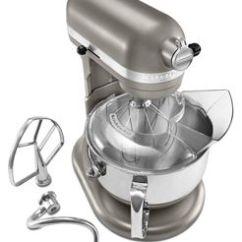 Kitchen Aid Silver Steamer Cocoa Professional 6 Quart Stand Mixer Kp26m1xacs Kitchenaid
