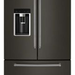 Kitchen Refrigerator Cabinet Pantry See All Refrigeration Options Kitchenaid 23 8 Cu Ft 36 Counter Depth French Door Plati