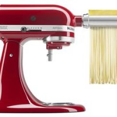 Kitchen Aid Mixer Attachments Honest Dog Food Review Stand Kitchenaid Make Your Own Pasta With The Attachment To Roll And Cut Dough