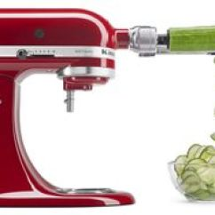 Kitchen Aid Attachments Tool Set Stand Mixer Kitchenaid Spiralize Vegetables With