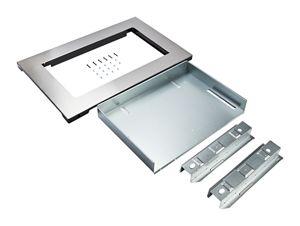 over the range microwave trim kit anti fingerprint stainless steel