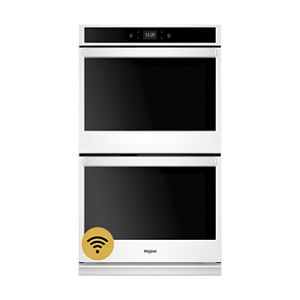 8 6 cu ft smart double wall oven with touchscreen