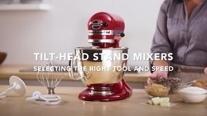 kitchen aid products red chairs empire artisan series 5 quart tilt head stand mixer ksm150pser product demos