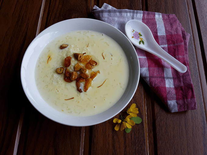 Dudepak – The most delicious Konkani milk and rice dessert.