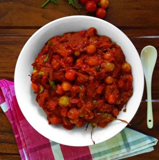 Cherry Tomato Pickle (Vegan + Gluten Free)
