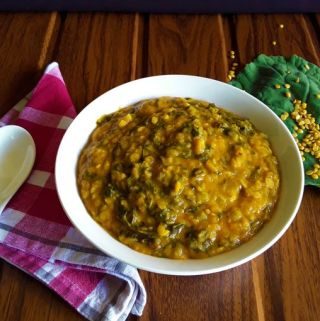 Collard Dal – A hot and spicy curry (Gluten Free)