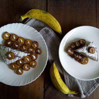 Eggless Banana Cake (Vegan)