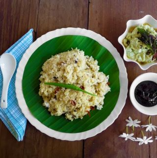 Pongal – A South-Indian Pressure Cooker Recipe (Gluten Free)