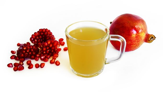 Pomegranate Peel Drink