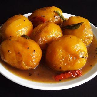 Ambya Umman – Konkani Ripe Mango Curry Dessert (Vegan + Gluten Free)