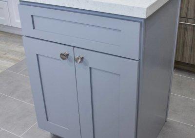 Grey Shaker Vanity