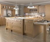traditional oak kitchens