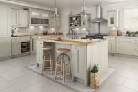 Traditional in frame kitchen design - painted kitchens ...